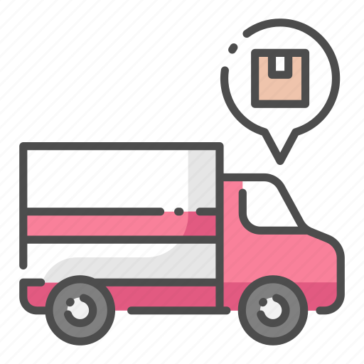 Cargo, delivery, export, logistic, shipping, transportation, truck icon - Download on Iconfinder