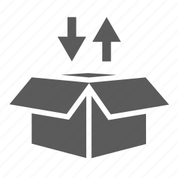 box, delivery, logistics, package, packaging, shipping, transportation icon