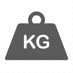 kg, kilogram, logistics, package, shipping, transportation, weight icon