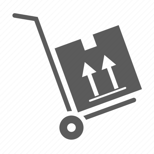 box, cart, delivery, logistics, package, shipping, transportation icon