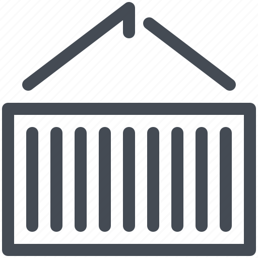 box, cargo, container, delivery, logistics, parcel, service icon