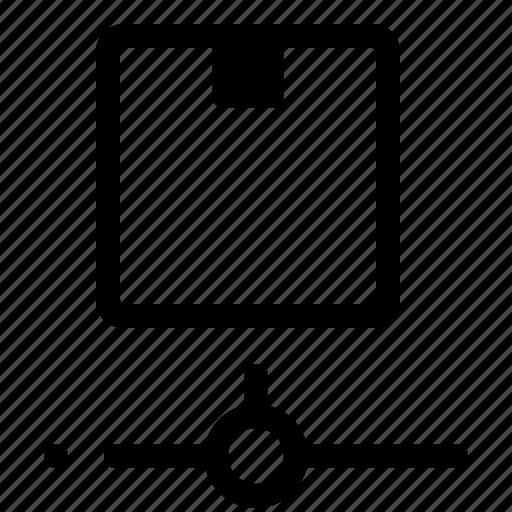 box, cargo, delivery, logistics, parcel, service icon