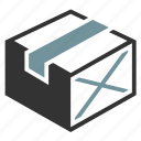 box, cargo, package icon