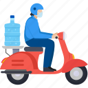 delivery, logistics, deliveryboy, transport, water supply, home delivery