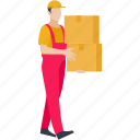 delivery, logistics, parcel, deliveryboy, box, package, courier