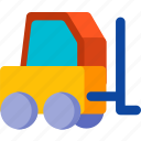 construction, lift, transport, transportation, truck, vehicle icon