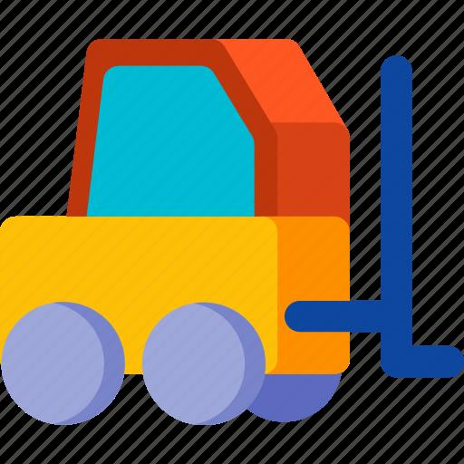 construction, lift, transport, transportation, truck, vehicle icon