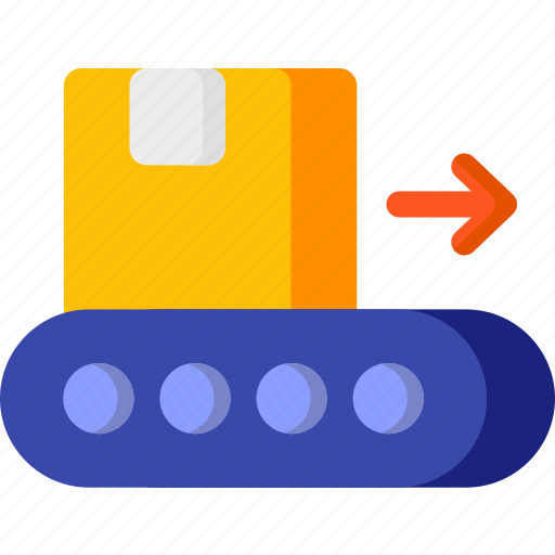 box, delivery, shipping, transport, transportation, trolley icon