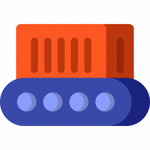 conveyor, delivery, logistic, transport, transportation, truck icon