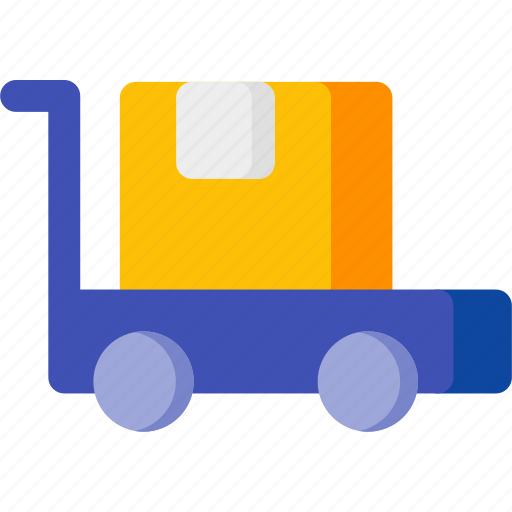 bag, box, delivery, package, shopping, transport, vehicle icon