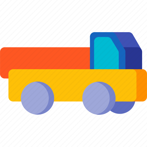 delivery, empty, transport, transportation, truck, vehicle icon