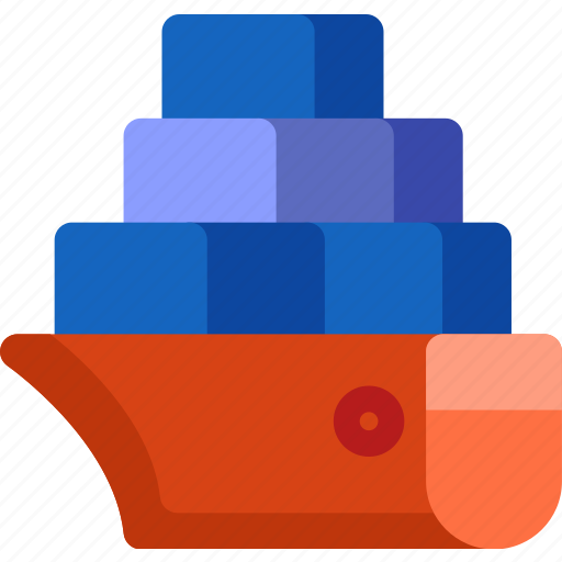 delivery, ship, shipping, shop, transport, vehicle, vessel icon