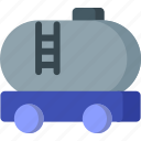 oil, shipping, tank, transportation, truck, vehicle, water icon