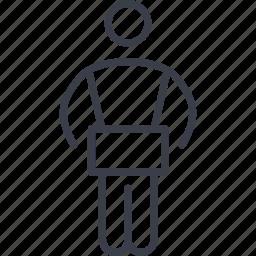 delivery, deliveryman icon