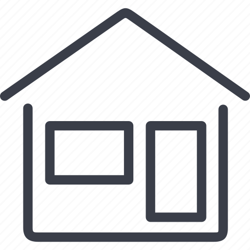 delivery, house icon