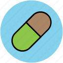 capsule, drug, medication, medicine, pill, tablet, wellbeing icon