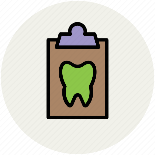 clipboard, clipboards, medical, prescription, prescriptions, report, tooth icon