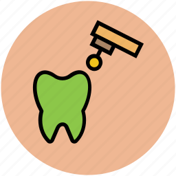 dental, dental filling, filling, fix, fixing, instrument, tooth icon