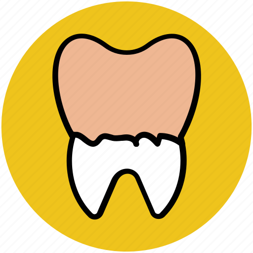 bacteria, damaged tooth, dental, illness, plaques, sick, tooth icon