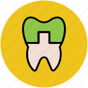 bacteria, dental, dental problem, dental treatment, illness, plaques, sick, tooth icon