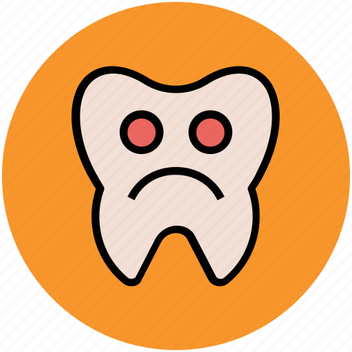 dental pathology, sickly tooth, tooth diseases, tooth disorders, tooth pathology icon