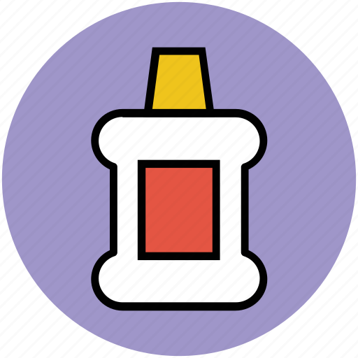 bottle, care, dental, hygiene, liquid, mouthwash, oral icon