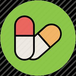 antibiotic, capsules, drugs, medications, medicine, prescriptions, rx icon