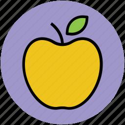 apple, food, fresh, fruit, healthy diet, healthy eating, healthy food icon