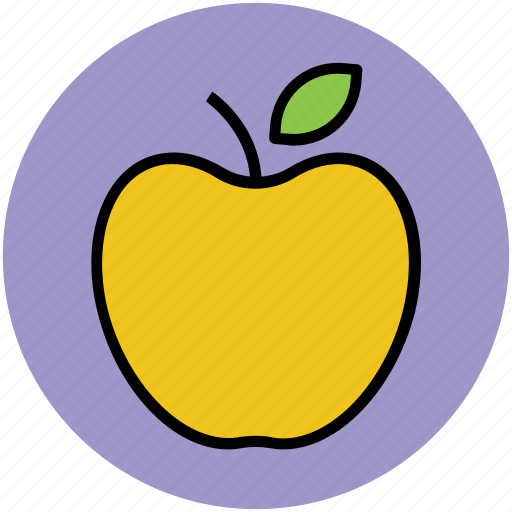 apple, food, fresh, fruit, healthy diet, healthy eating, healthy food icon