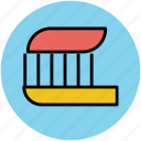 brush, dental, dental cleanliness, morning, toothbrush, toothpaste, wash, washing icon