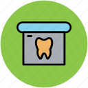dental clinic, dental department, dental hospital, dental office, dentist, dentistry, stomatology icon