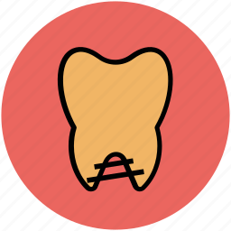 caries, caries tooth, dental, dental caries, human tooth, tooth icon