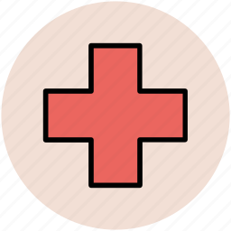 aid, emergency, healthcare, hospital, medical, red cross, rescue icon