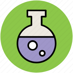 beaker, chemistry, container, glassware, lab, laboratory flask, laboratory object icon