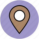 location marker, location pin, location pointer, locator, map marker, map pin icon