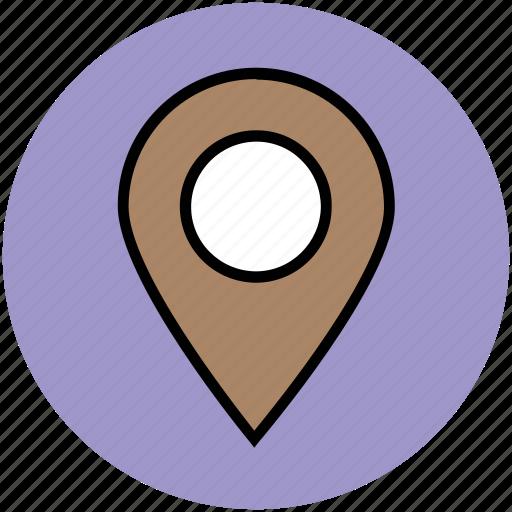 location marker, location pin, location pointer, locator, map marker, map pin icon