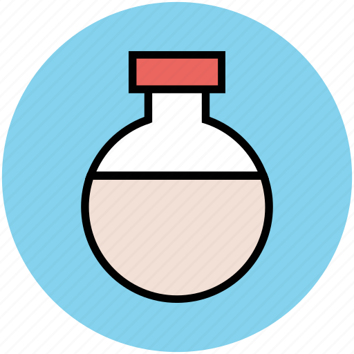 beaker, chemistry, container, glassware, lab, lab flask, laboratory object icon
