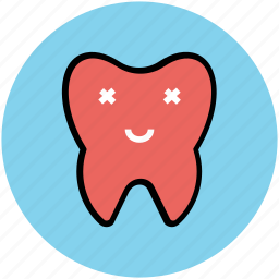 cartoon, cartoon tooth, cheerful, dental, dental improvement, healthy tooth, hygiene, tooth icon