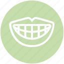 .svg, dental, dentist, mouth, smile, teeth, tooth icon
