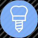 .svg, dental instrument, dental prosthesis, dental tool, dentist, dentist tool, plaque remover icon