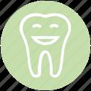 .svg, cartoon, dental, dentist, healthcare, smiley, tooth