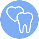 .svg, care, dental, heart, love, stomatology, tooth icon