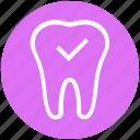 .svg, checkup, dental, dentist, healthcare, stomatology, teeth icon