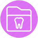 .svg, dental, folder, healthcare, stomatology, teeth icon