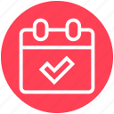 .svg, appointment, calendar, check, schedule, tick icon