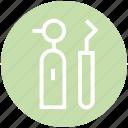.svg, dental instrument, dental tool, dentist, dentist tool, plaque remover icon
