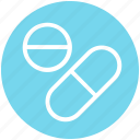 .svg, capsule, drug, medications, medicines, pills, tablets icon
