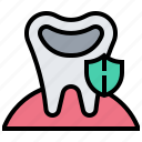 decay, dental, medical, protect, tooth icon