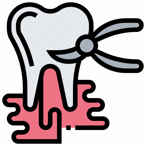dental, extraction, repair, tool, tooth icon
