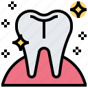 dental, healthcare, medical, tooth, whitening icon